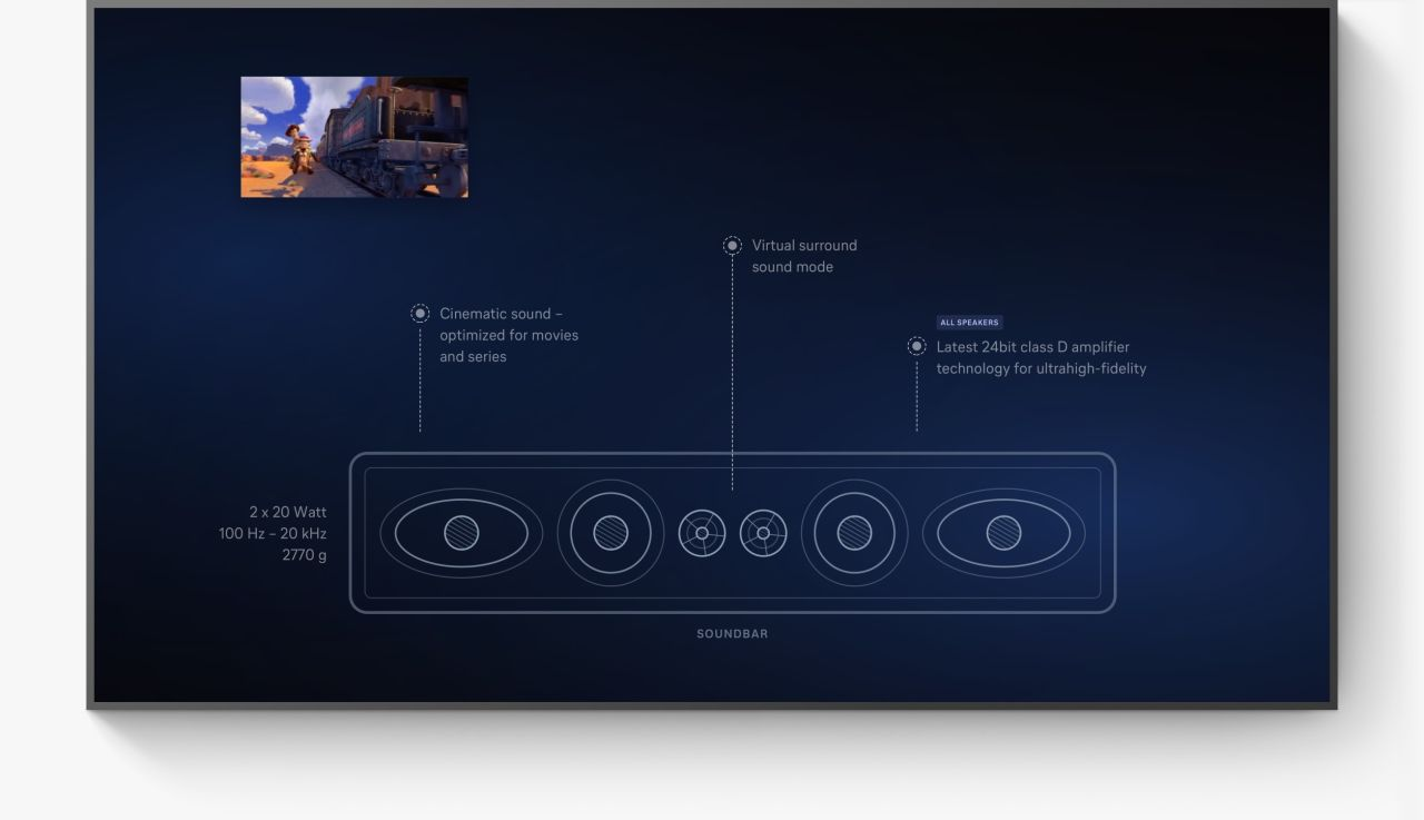 Lufthansa Technik Audio Demo TV Mockup